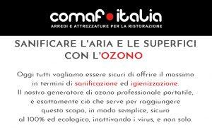 SANIFICARE GLI AMBIENTI E LE SUPERFICI CON L'OZONO