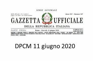DPCM 11 GIUGNO 2020: LE NOVITA' PER I PUBBLICI ESERCIZI
