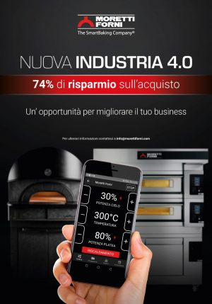 L'esclusiva tecnologia Moretti Forni dà accesso ad Industria 4.0